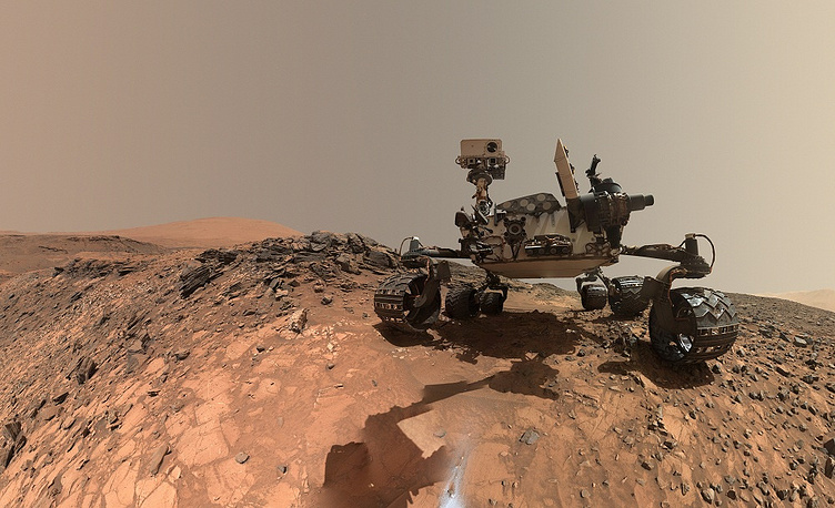 Curiosity robotic rover landed on the surface of Mars in August 2012 and is currently helping to determine whether Mars could ever have supported life, and search for evidence of past or present life on this planet