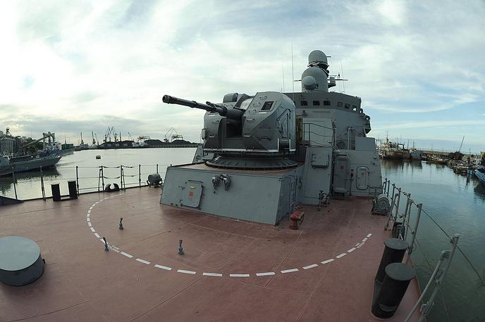 Gepard-class frigate Dagestan