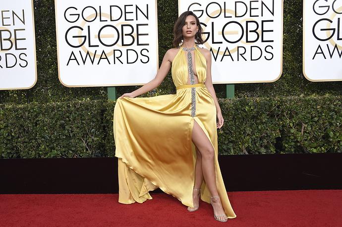Actress and model Emily Ratajkowski