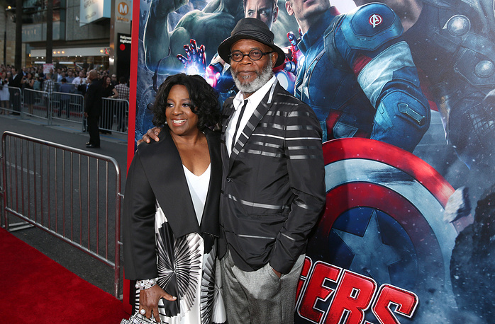 LaTanya Richardson Jackson and Samuel L. Jackson have been married for 37 years