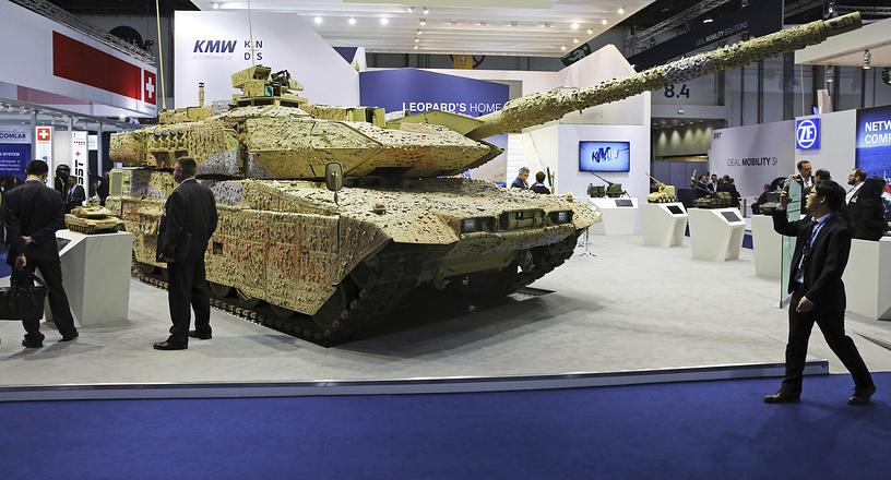Krauss-Maffei Wegmann Leopard tank