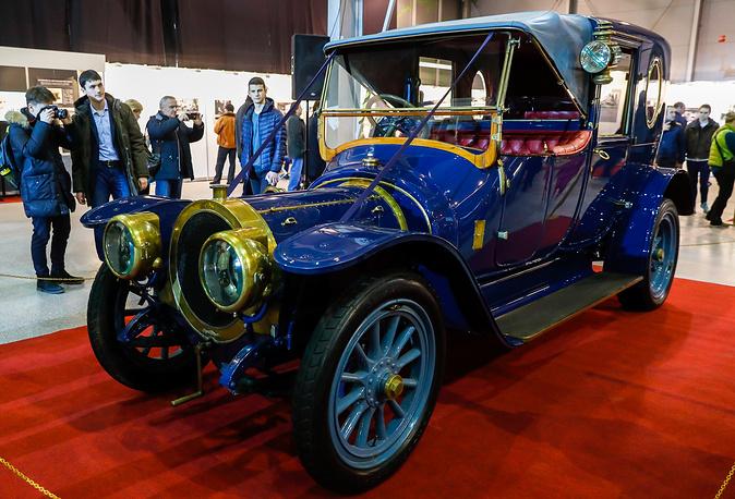 Delaunay-Belleville 35CV (France, 1912)