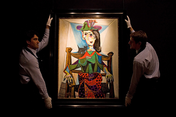 In 2006, Georgia's businessman and politician Bidzina Ivanishivli purchased Picasso's Dora Maar au Chat (Dora Maar with Cat) for $95,2 million.