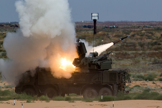 Pantsir-S air defense missile system