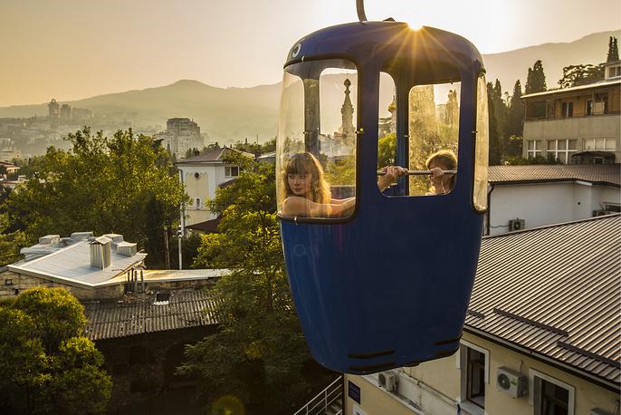 Yalta-Gorka cable car