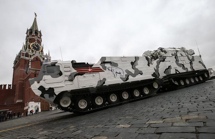 Tor-M2DT missile system