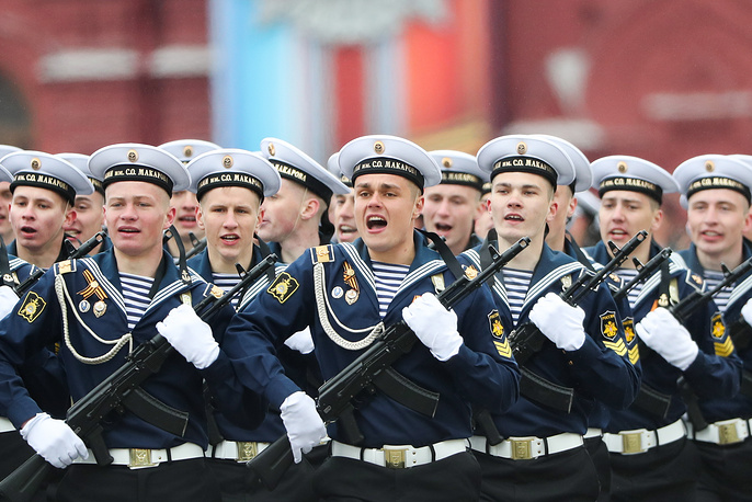 Cadets of the Makarov Pacific Naval Institute