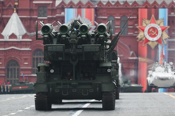 Buk-M2 anti-aircraft missile system