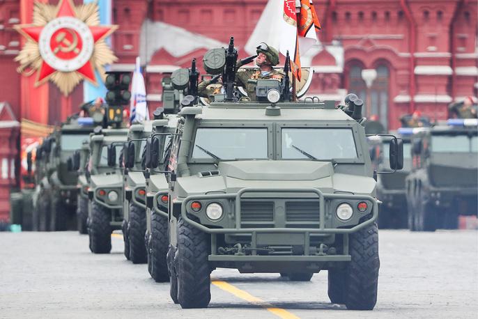 Tigr multipurpose infantry mobility vehicles