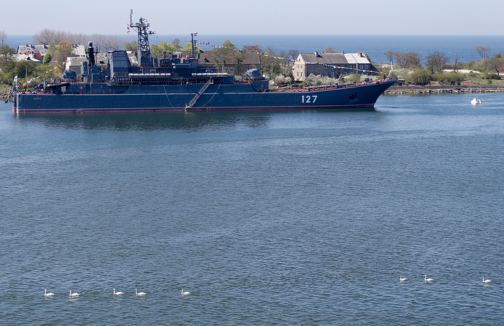 Large amphibious ship Minsk