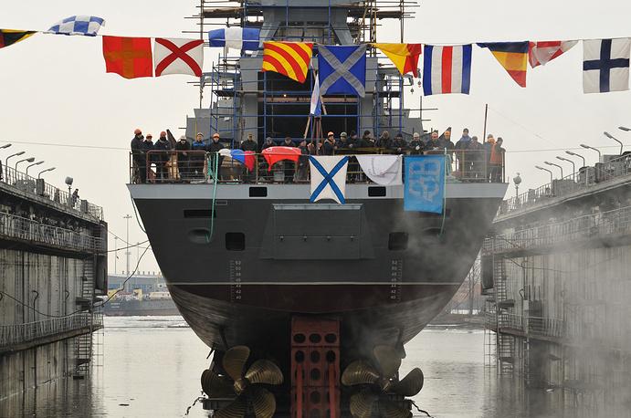Russian Navy corvette Soobrazitelny