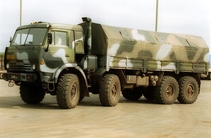KamAZ-6350 heavy utility truck, a member of Mustang family