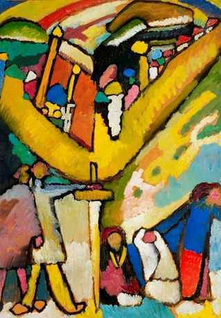 "Wassily Kandinsky's ""Sketch for Improvisation number 8"" (1909) was sold for $23 million in 2012"