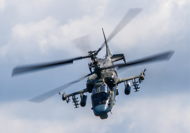 Kamov Ka-52 Alligator attack helicopter