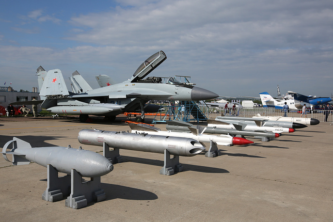 Mikoyan MiG-35 multi-role fighter jet