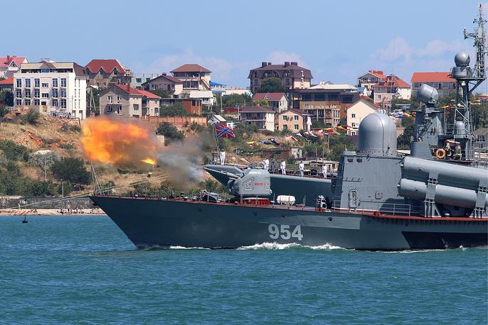R-334 Ivanovets missile boat in Sevastopol, Crimea