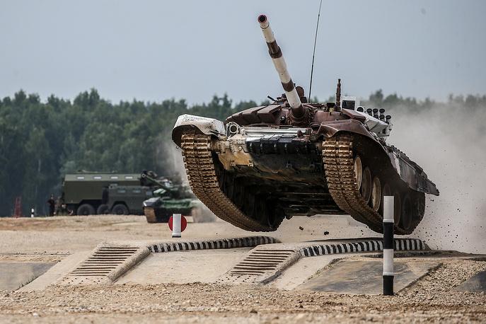 Angola's T-72B3 tank