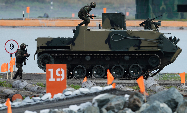 BTR-MDM Rakushka armored personnel carrier