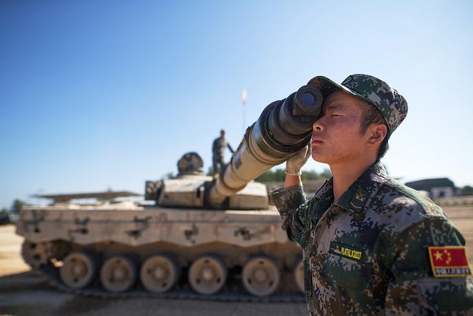 China's tank crew