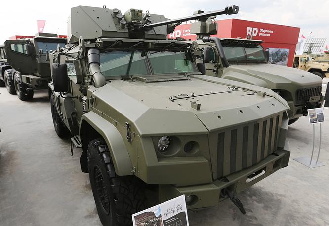 Taifun K-4386 armored vehicle