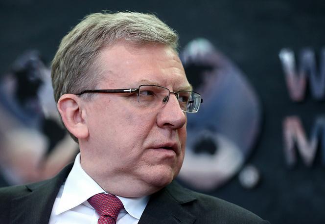 Former Russian Finance Minister Alexei Kudrin