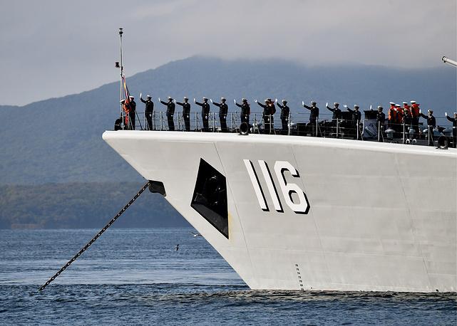 The Shijiazhuang missile destroyer