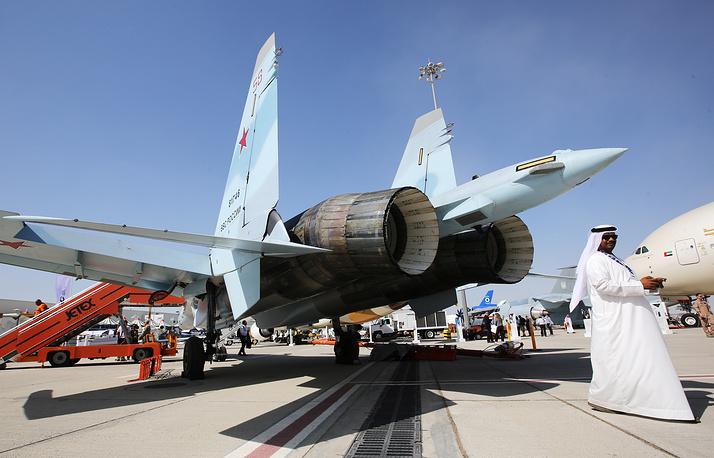 Sukhoi Su-35 fighter jet
