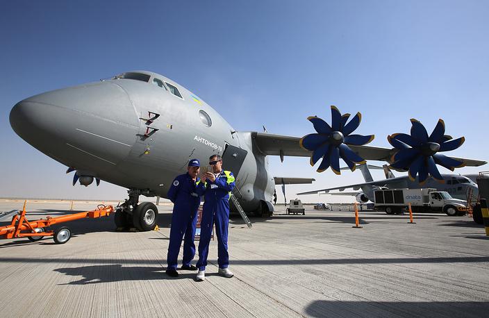 Antonov An-70 transport aircraft