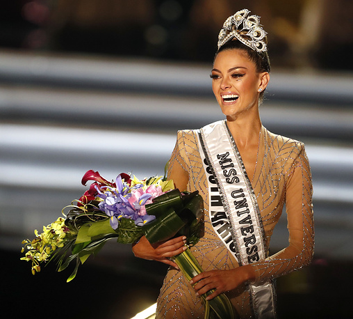 Miss South Africa Demi-Leigh Nel-Peters is crowned the 2017 Miss Universe at the Planet Hollywood Hotel and Casino in Las Vegas, USA