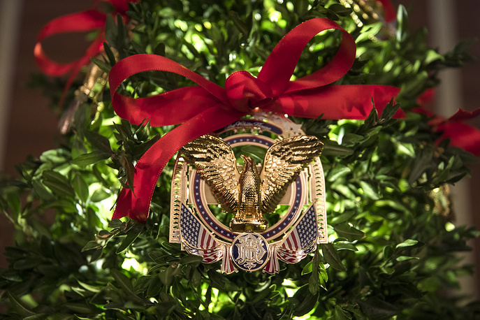 The official 2017 White House ornament
