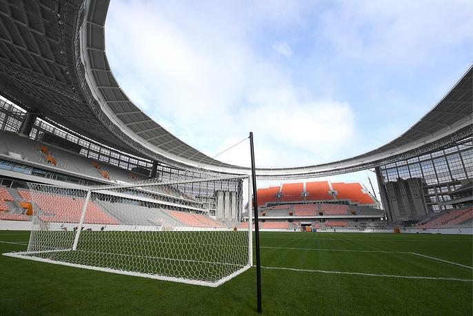 Pitch at Yekaterinburg Arena Stadium