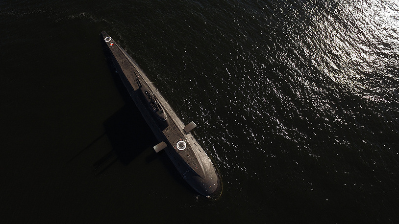 Diesel-electric Varshavyanka (project 636.6) submarines are reputed to be one of the quietest in their class. Kalibr cruise missiles are Project 636.6's main weapon. Photo: Veliki Novgorod submarine