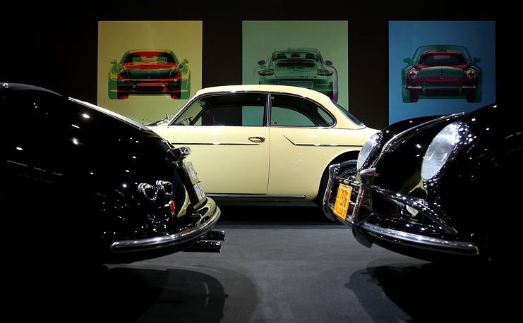 A rare vintage Porsche Beutler Coupe from 1958
