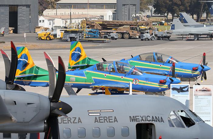 Embraer Super Tucano A-29A light attack aircraft