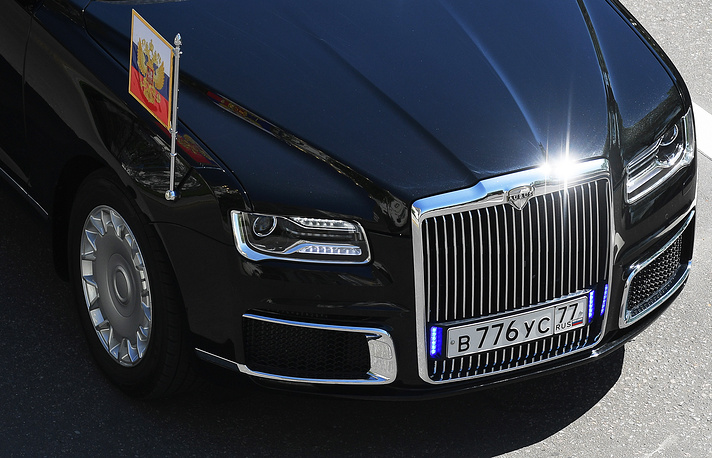 The ministry plans to increase Cortege vehicles production to more than 1,000 units per year after 2020, Denis Manturov said