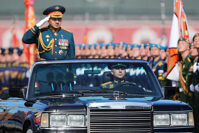 Russia's Acting Defense Minister Sergei Shoigu