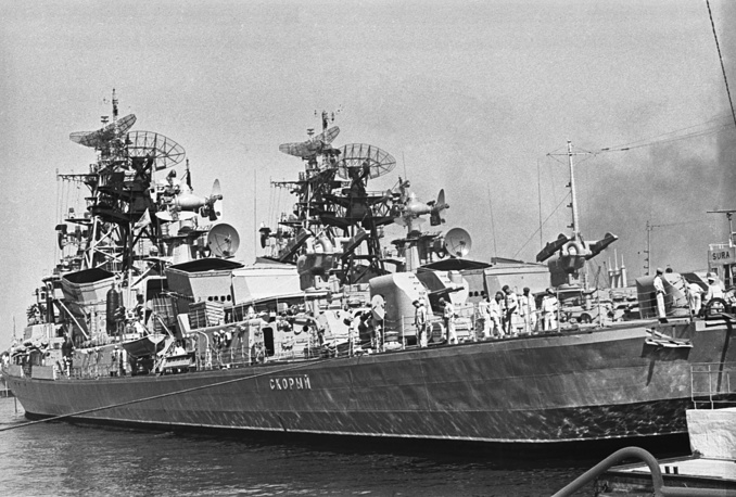 Warships of the Black Sea fleet, 1979