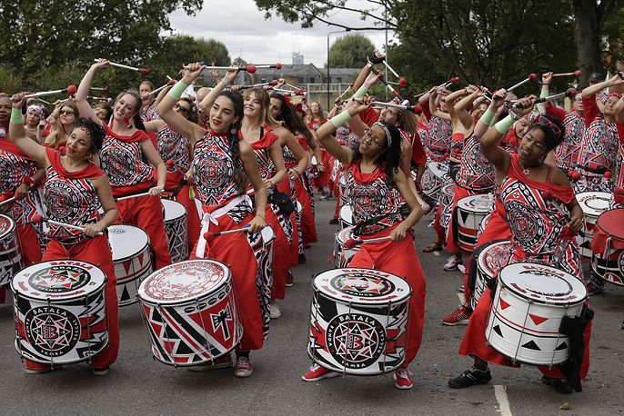 The carnival has been held every year since 1966 and one of the largest festival celebrations of its kind in Europe