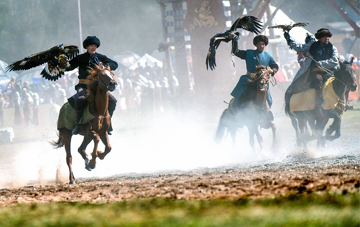 2018 World Nomad Games are held at Kyrchyn Gorge in the Issyk-Kul region, Kyrgyzstan, every two years