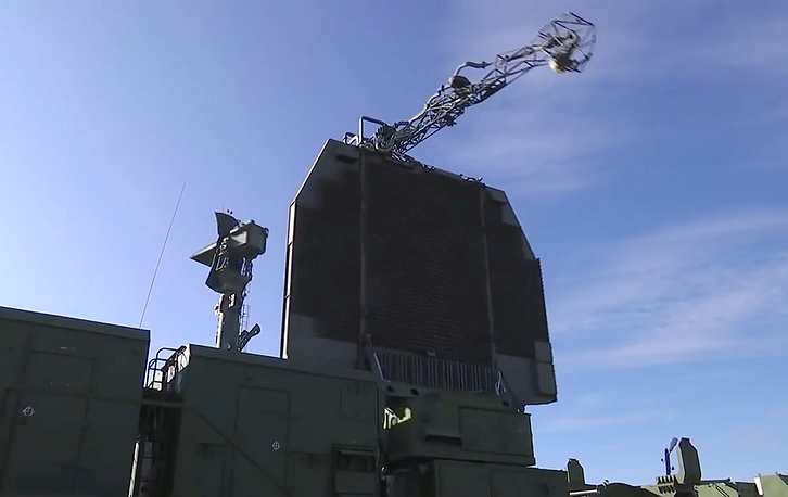 Military hardware at Telemba training range