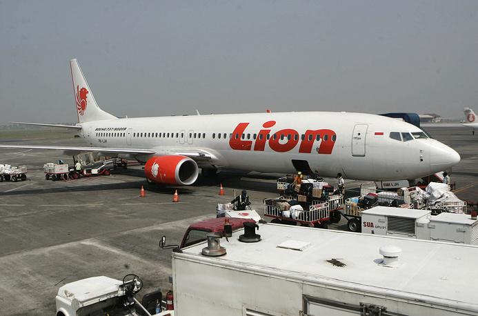 Lion Air passenger jet parked on the tarmac at Juanda International Airport in Surabaya, Indonesia, October 29, 2018