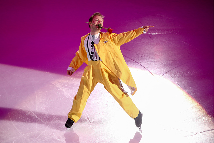 Figure skater Alexander Majorov of Sweden