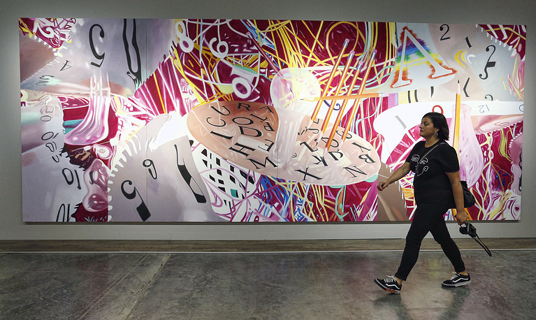 Times-Blades Learning Curves' by James Rosenquist