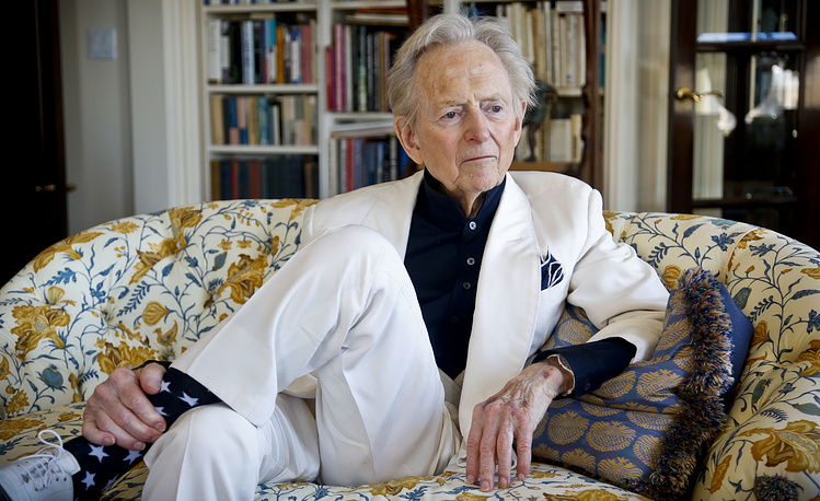 American author and journalist Tom Wolfe died on May 14 at the age of 88