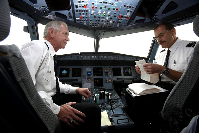 "Captain Chesley ""Sully"" Sullenberger and 1st Officer Jeffrey Skiles"