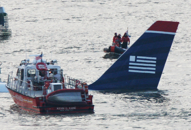 All 155 persons aboard survived
