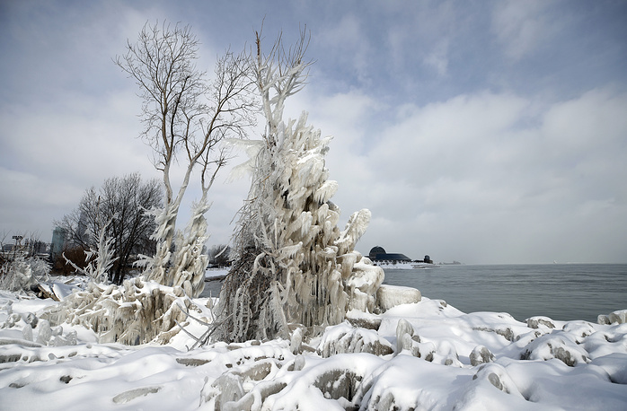 """An emergency preparedness plan was issued ahead of a """"historic"""" polar vortex of cold air and wind descending on the US Midwest"""