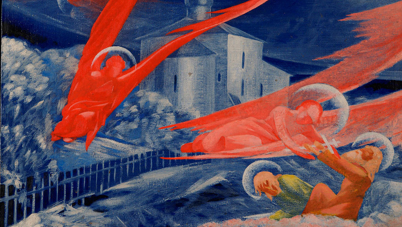 """Леонид Чупятов. """"Ангелы"""". Около 1922."""