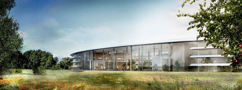 Проект новой штаб-квартиры Apple в Купертино