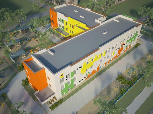 """Проект реконструкции детского сада в Верхней Пышме - """"детский сад нового типа"""""""